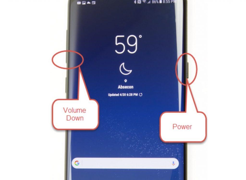 Screenshot Samsung (Android)