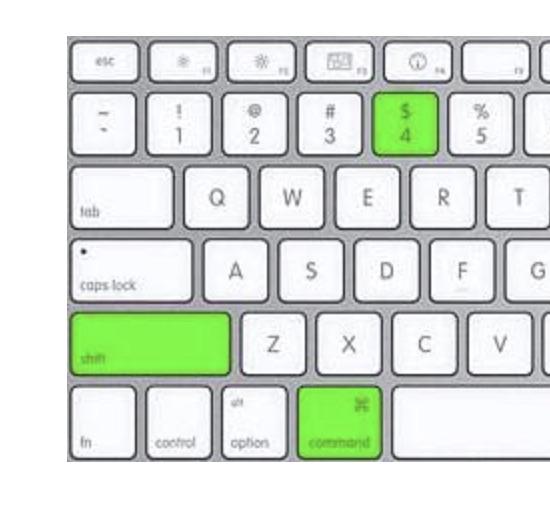 Screenshot Macbook